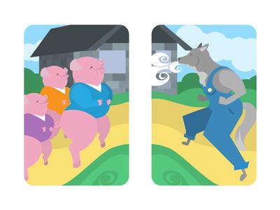 Tales Dribbble Piggies 01