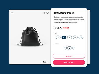 Single Product freebie wishlist cart shopping shop ux sketch challenge ui daily product single