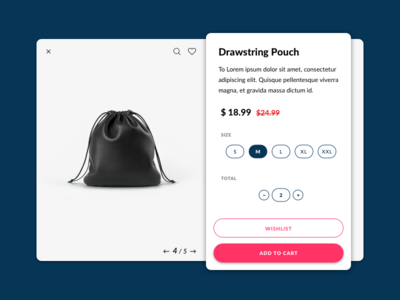 Single Product freebie wishlist cart shopping shop ux sketch challenge ui daily product single