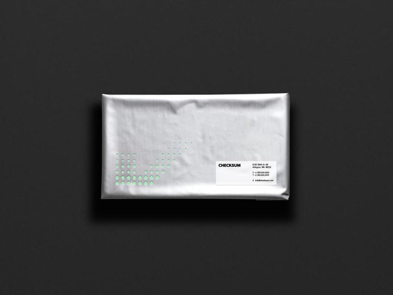 Checksum Mailer packaging mailer branding identity