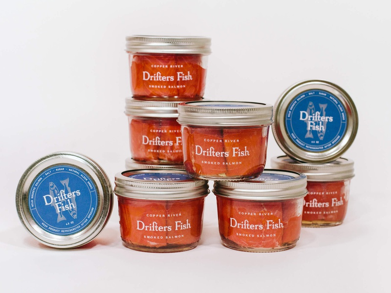 Drifters Fish - packaging fish seafood packaging branding identity
