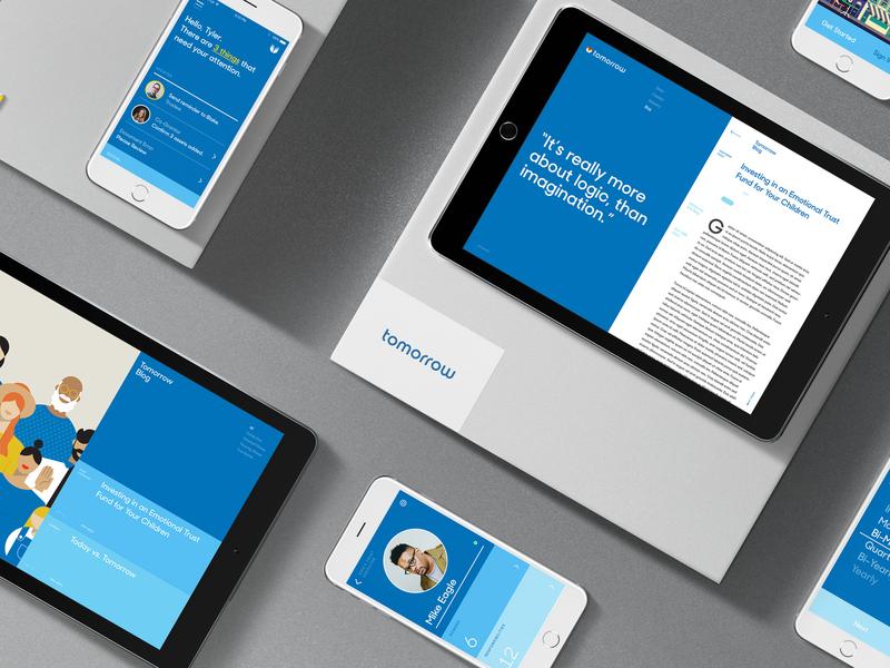 Tomorrow digital design product design uxui design