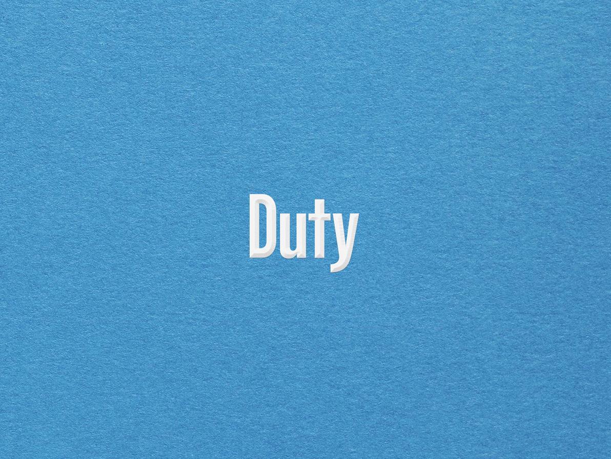 Duty Wordmark wordmark logo branding identity
