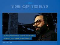 UCLA Optimists USB promo site