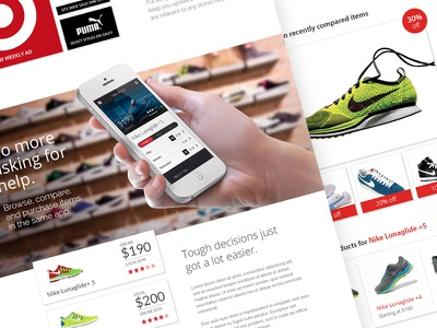Shopping mobile shopping ecommerce app marketing