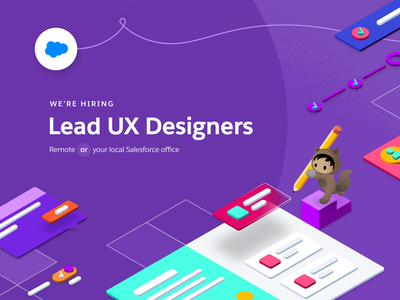 I'm Hiring - Lead/Principal Designer at Salesforce job posting job design salesforce remote ux hiring