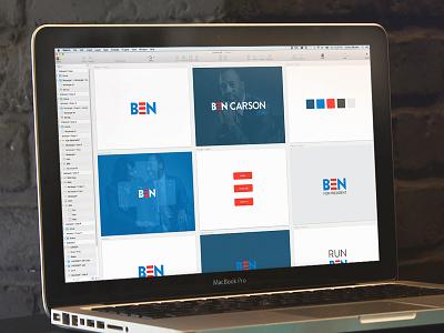 Dr. Ben Carson branding logo 2016 ben carson president political