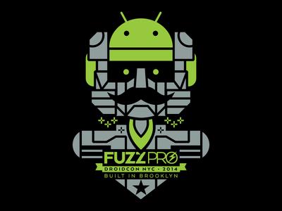 DROIDCON Shirt droid android droidcon mustache voltron