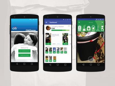 CitiChores : Hackathon - Finalist WIP hackathon chores app citi android