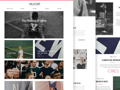 Blog Design - WIP wordpress web design blog ecommerce fashion