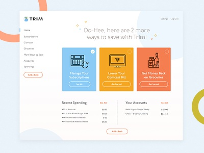 App Visual Design Explorations dashboard interface product design fun bright colorful ui design app design freelance