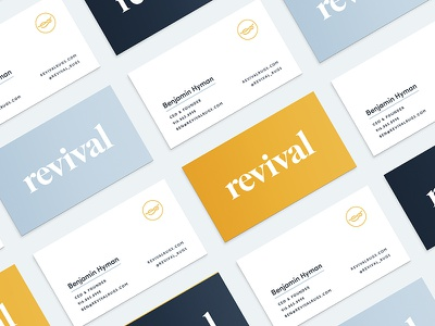 Business Cards in the Works stationery print business cards collateral branding logo e-commerce freelance