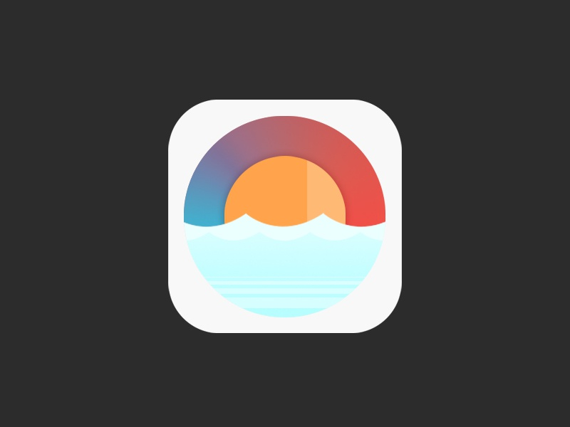 weather app icon personal wip icon application app weather