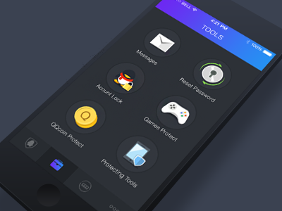 Security Center - Tools by Sheen on Dribbble