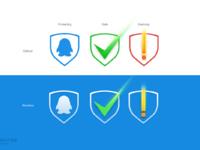 Qq security center symbol design fullview