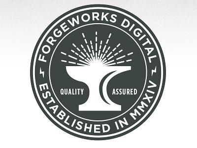 ForgeWorks Seal seal logo branding