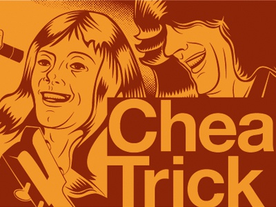 Cheap Trick Infographic Poster infographic music illustration