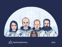 Booking Factory Team