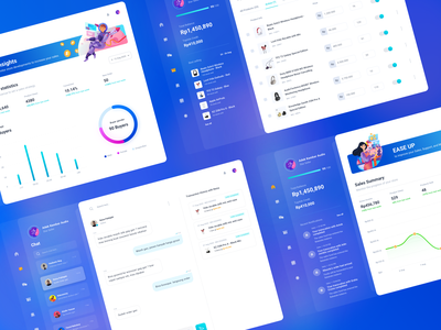 Bukatoko Marketplace Ecommerce Dashboard marketplace minimal app design finance illustration website ux ui dashboard ecommerce shop modern chat marketing money clean landing
