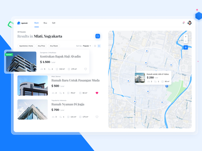Property Finder Platform | Ngomah finder map dashboard clean ui minimal apartment mortgage property listing rent property management realtor web design real estate property