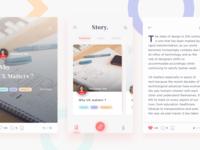 Cerita Story Blog App - light