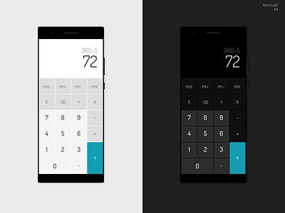 DailyUI 04 - Calculator dailychallenge daily ui 004 challenge dailyui daily ui calculator ui calculator