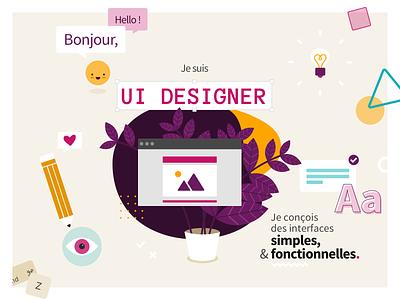 UI Designer portfolio france lille illustration ui designer ui design uidesign designer design ui