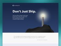 Breakpoint Studio Web Landing Page