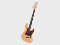 J Bass in Natural Ash