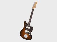 Sunburst J Guitar