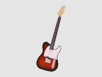 Sunburst T Guitar