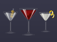 Up Cocktails from the Mixologist Sticker Pack
