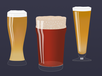 Some Beer varieties from the Mixologist Sticker Pack