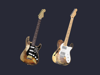 """A Couple of Signature """"Worn and Weathered"""" Guitars"""