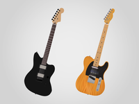Two New Guitars for the Leo Collection