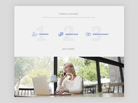 EasySend landing page