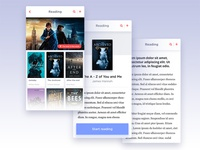 AI App - Reading section