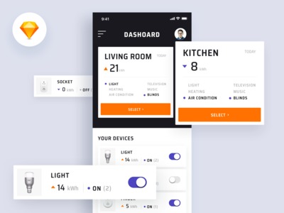 Smartly App - Smart Home Dashboard
