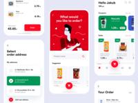 Auchan redesign concept set