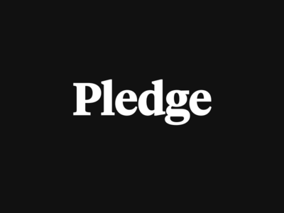 Pledge: Wordmark