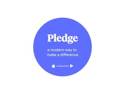 Pledge: Sticker