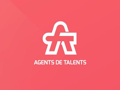 Agents De Talents Logo talents agents at logo