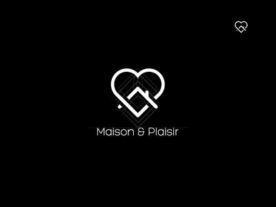 Shot Maison Plaisir Logo love home logo