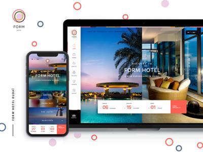 Form Hotel Dubaï booking hotel form