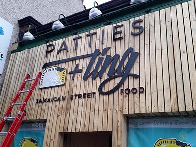 Restaurant Brand and Signage restaurants street food restaurant logo restaurant branding poster design signage design vector logo design logo branding