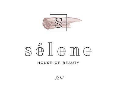Selene logo concept concepts logo design logo branding