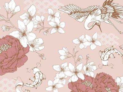 Print Design for Fashion Brand surface pattern design textile design textile fashion design fashion print design