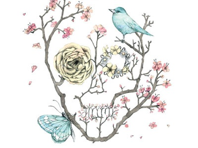 Illustration // Sakura art drawing illustration