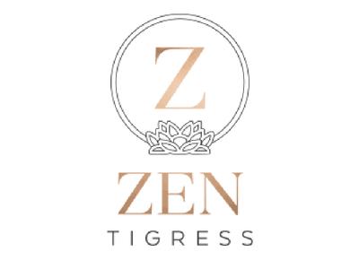 Zen Tigress Logo branding logo