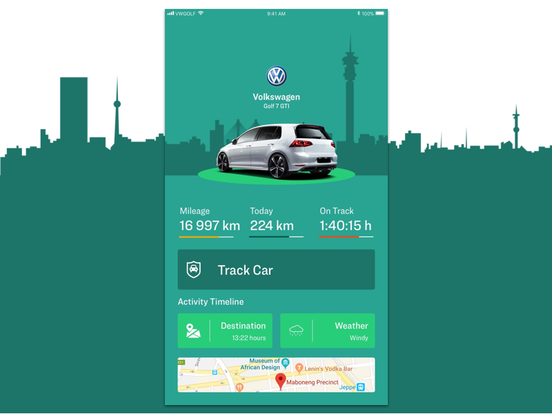 car track app dashboard concept by kagiso nyalunga dribbble
